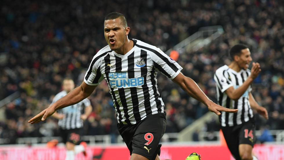 """We might have just had a big say in the title race"", says Rondón after netting 30th Premier League goal in win over Manchester City"