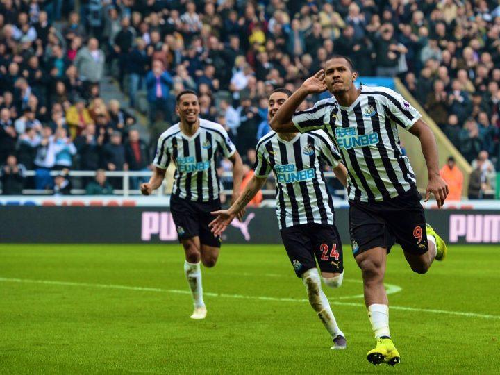 Salomón Rondón ha participado en el 46% de los goles del Newcastle esta temporada