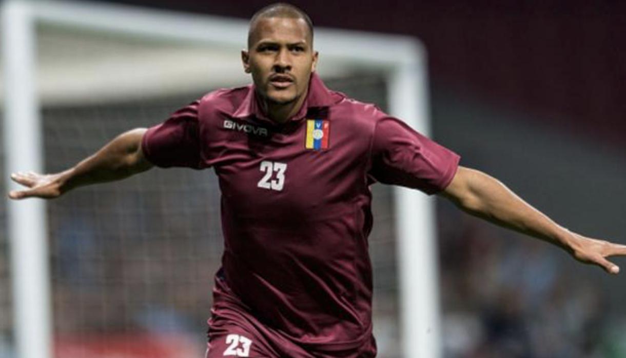 Rondón grabs headlines in Venezuela triumph over  Argentina with fine finish