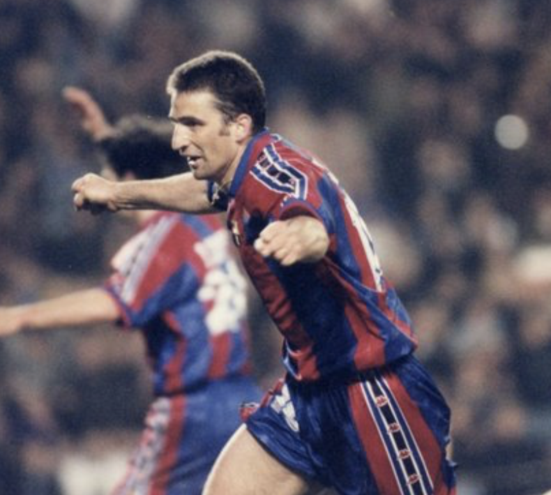 Juan Antonio Pizzi reflects on his playing career at Barça & talks about his current coaching work in SPORT