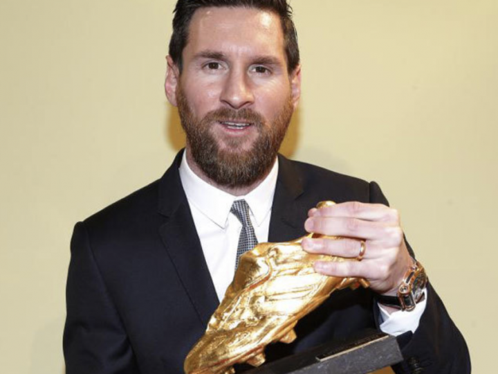 Leo Messi vuelve a romper registros y consigue su sexta Bota de Oro
