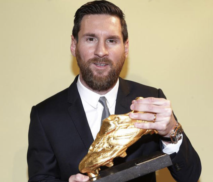 Record-breaking Leo Messi claims sixth Golden Shoe