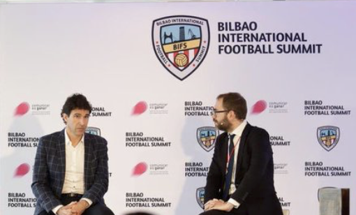 Karanka shares his coaching knowledge at the Bilbao International Football Summit