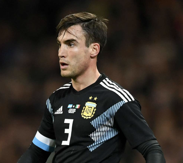 Argentina's Nico Tagliafico speaks to Goal ahead of Copa América to reveal his summer goals