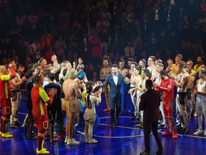 Leo Messi preside el exitoso estreno mundial de Messi10 by Cirque du Soleil en Barcelona
