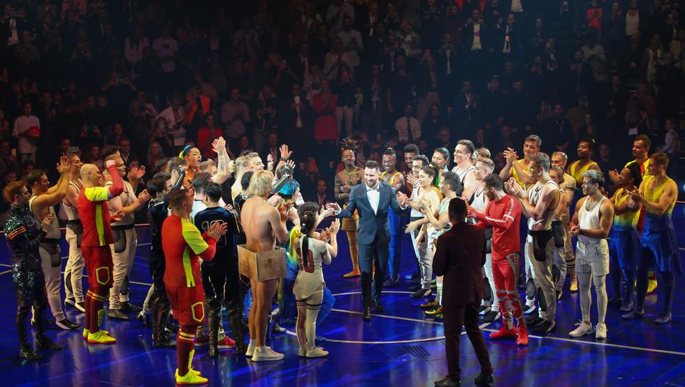 Leo Messi presides over successful world premiere of Cirque du Soleil's Messi10 in Barcelona
