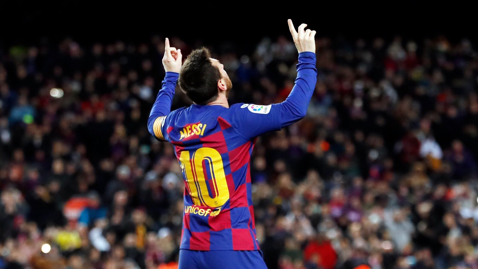 Leo Messi named LaLiga Player of the Month for February